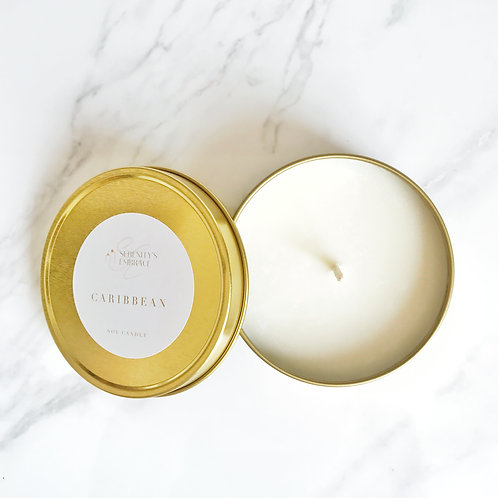 Caribbean Travel Candle