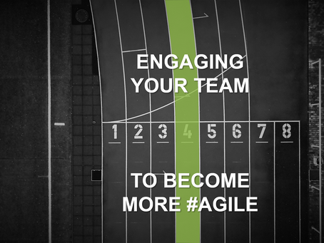 Yet another tip to create agile TEAMS