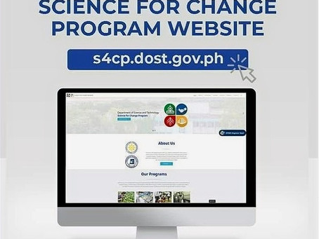 DOST officially launches Science for Change Program website