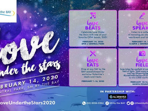 Celebrate Love Under The Stars this February 14, 2020 in Central Park, SM By The Bay