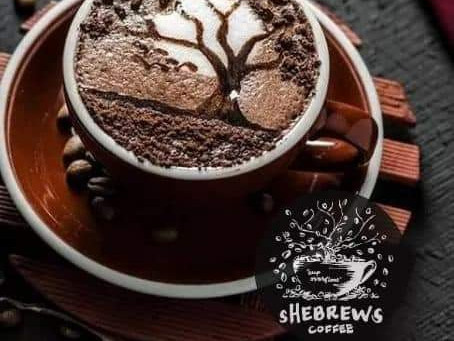 She bangs! sHeBrews where coffee beans roasted to perfection for bolder flavor and aroma