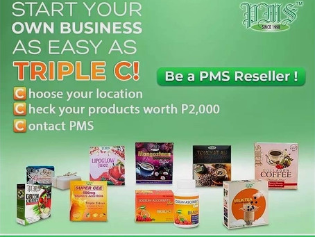 Start earning at home by becoming a PMS Reseller