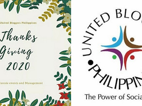 Thanksgiving Day for the 5th Year of United Bloggers Philippines Hosted by Eunnies Events Management