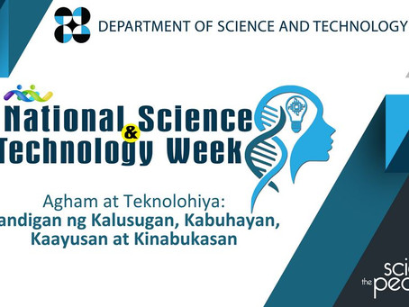 National Science & Technology Week 2020 Celebration Happening Online This November 23-29, 2020