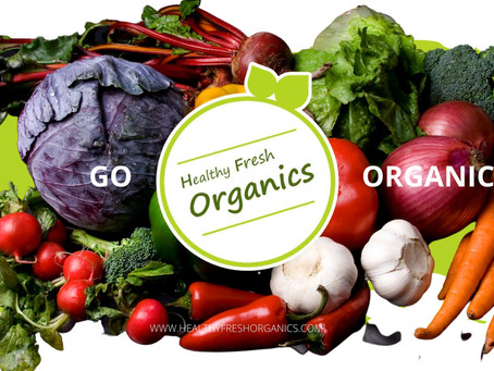 Healthy Fresh Organics offers fresh salads  and Super Smoothie