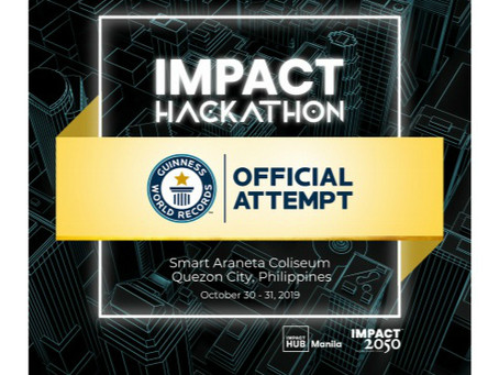Impact Hackathon, the World's Biggest Hackathon - an official Guinness World Records attempt