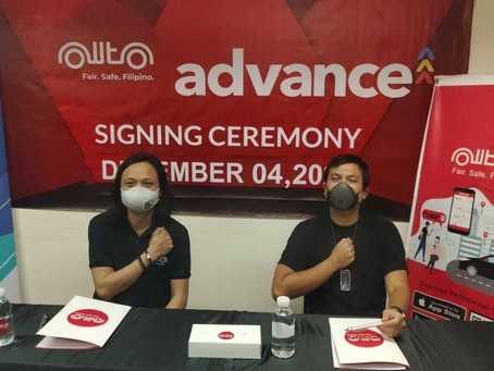 OWTO-Advance Sign Exclusive Partnership Giving The Drivers Their Earnings On-Demand