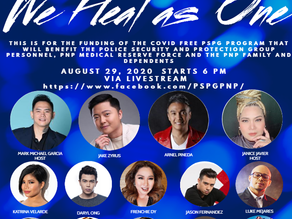 We Heal As One - The Online Concert Free To Watch this August 29, 2020