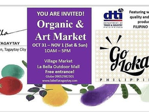 Go Lokal Philippines Invites Everyone To Their Organic and Art Market Event at La Bella Tagaytay