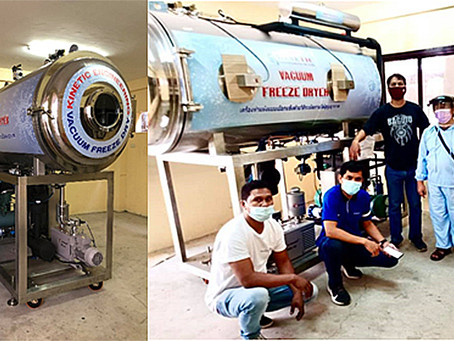 C-FoSH facility offers vacuum freeze dryer to MSMEs