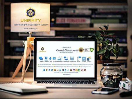 Unifinity: The most sophisticated  remote learning Platform powered by Blockchain Technology