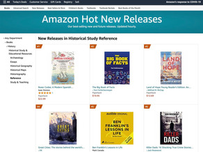 PH Book Hits Number One in New Releases in Amazon