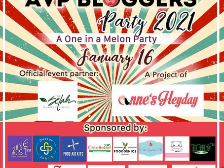 AVP Bloggers Party 2021 A Project of Anne's Heyday