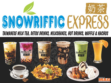 Start your MilkTea Business for as low as Php29,970 with Snowriffic Tea