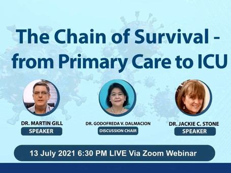 The Chain of Survival- from Primary Care to ICU