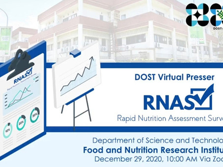 Pregnant, Young Children Most Affected by Pandemic, DOST-FNRI Survey Reveals