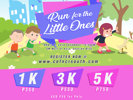 Child Evangelism Fellowship NCR South Launches Run for the Little Ones