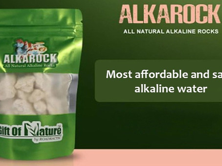 Alkarock is the most affordable way to have alkaline water