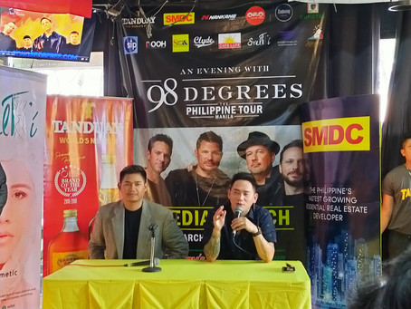 """""""An Evening With 98 Degrees"""" The Philippine Tour Concert This Month of May 2020"""