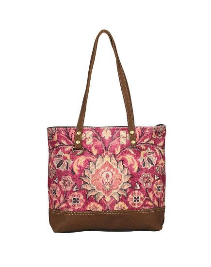 Pink Blossoms Myra Tote Bag