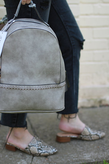 Vegan Leather Backpacks