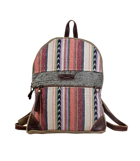 Pastel Stripes Myra Backpack