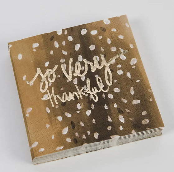 Thankful Napkins