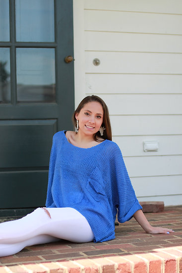 Onesized Cobalt Blue Sweater