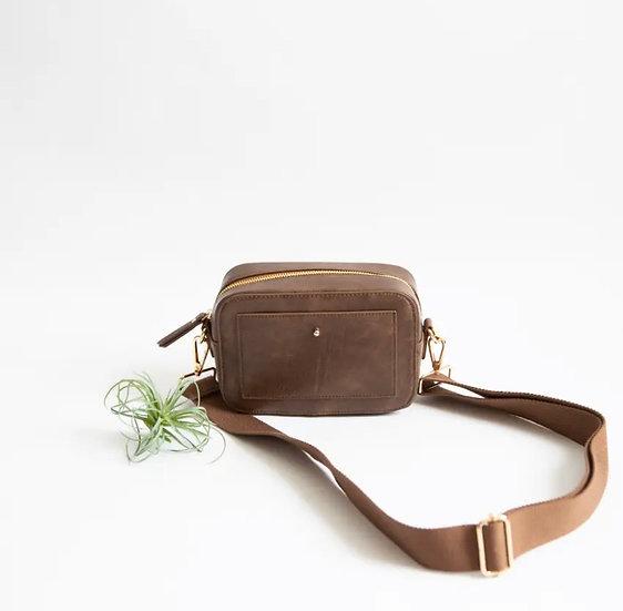 Vegan Faux Leather Interchangable Strap Crossbody Bags