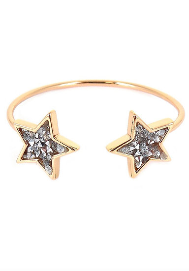 Gold Sparkling Star Cuff