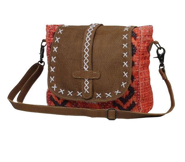 Stitched Myra Shoulder Bag