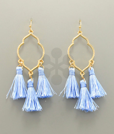 Petite Tassel Earrings