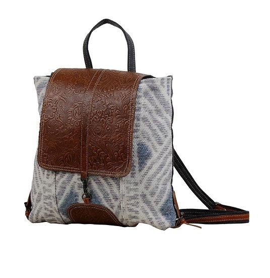 Faded Blue Myra Backpack