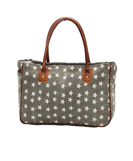 Gray Star Myra Tote Bag