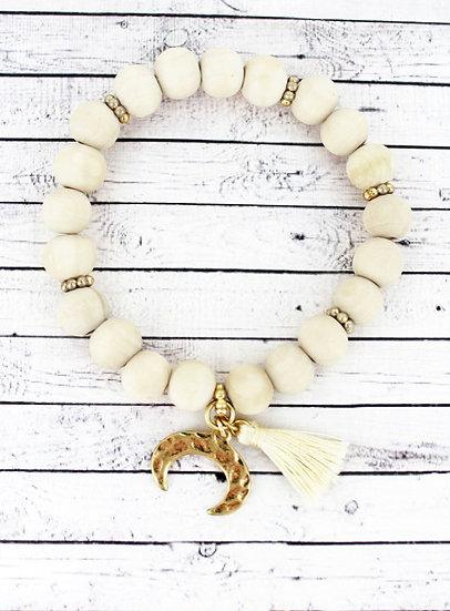 Horn Charm Bracelet
