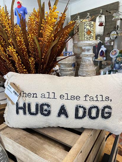 Hug Dog Pillow