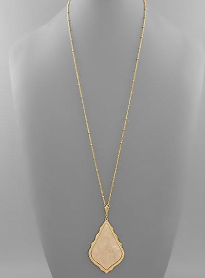 Acrylic Arabesque Necklaces