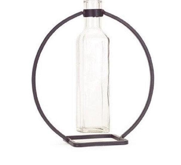 Hanging Vase Circle Metal Stand