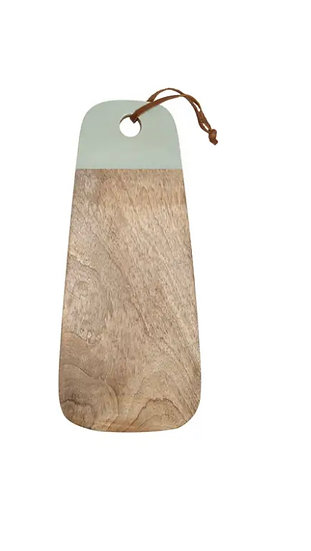 Mango Wood Sage Cutting Board