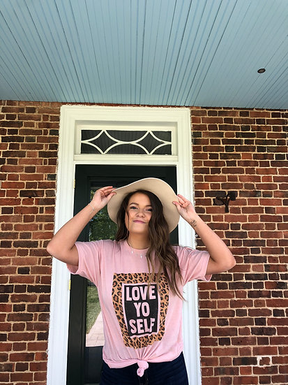 Love Yo Self Graphic Shirt