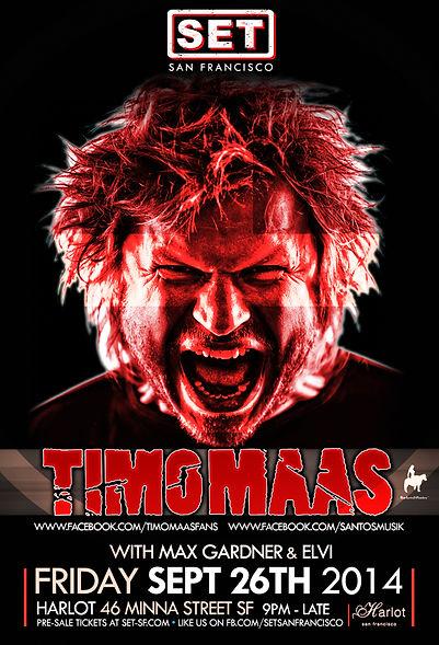 SET WITH TIMO MAAS AT HARLOT