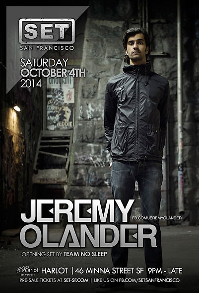 SET with JEREMY OLANDER at HARLOT