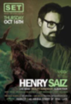 SET WITH HENRY SAIZ LIVE AT HARLOT