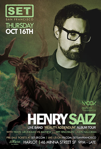 SET WITH HENRY SAIZ LIVE AT HARLOT