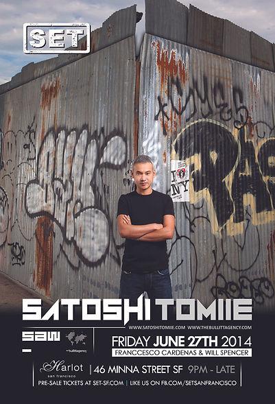 SET WITH SATOSHI TOMIIE AT HARLOT