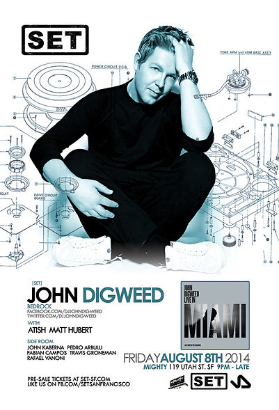 SET with JOHN DIGWEED at Mighty.