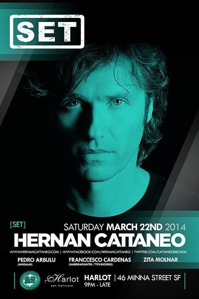 Set with Hernan Cattaneo at Harlot