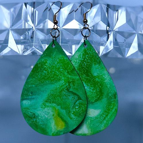 Green Teardops