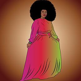 Cartoon of Nakitende Esther