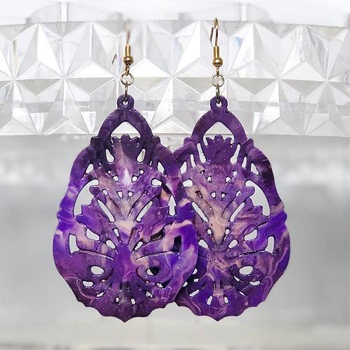 TriPpi Purple Teardrops